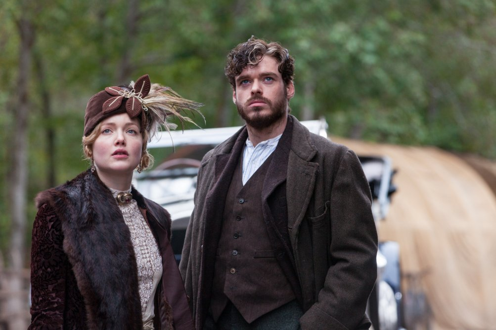 L'amante di Lady Chatterley: Holly Grainger e Richard Madden