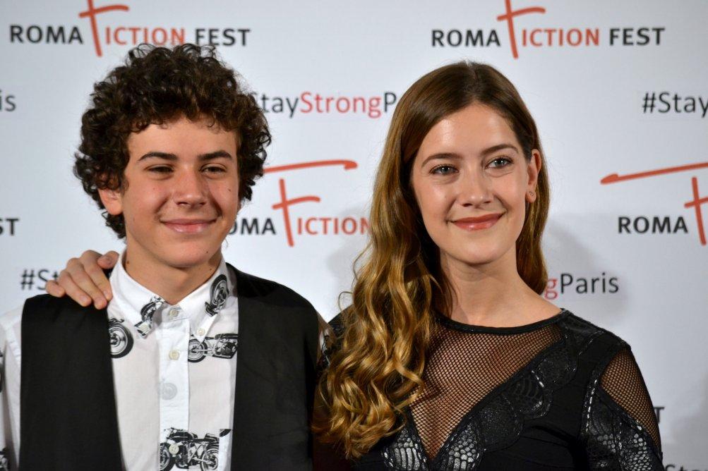 "Roma Fiction Fest 2015: Mirko TRovato e Clara Alonso al photocall di ""Lontana da me"""