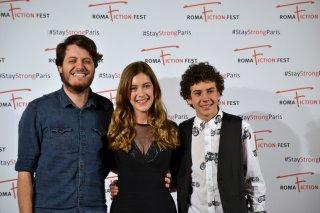"""Roma Fiction Fest 2015: Mirko Trovato, Claudio Di Biagio e Clara Alonso al photocall di """"Lontana da me"""""""