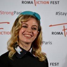 """Roma Fiction Fest 2015: Cristel Checca al photocall di """"Zio Gianni"""""""