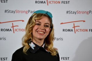 "Roma Fiction Fest 2015: Cristel Checca al photocall di ""Zio Gianni"""