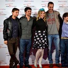 """Roma Fiction Fest 2015: Daniele Grassetti,Paolo Calabresi, Francesco Russo, Luca Di Capua, Cristel Checca al photocall di """"Zio Gianni"""""""