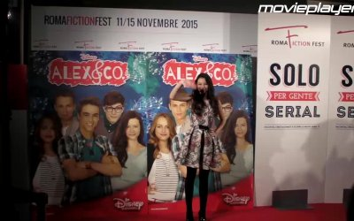 Alex & Co 2: il tappeto rosso al Roma Fiction Fest 2015