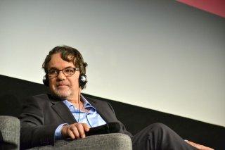 Roma Fiction Fest 2015: Frank Spotnitz in uno scatto durante la masterclass