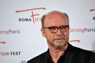 Roma Fiction Fest 2015: un primo piano di Paul Haggis al photocall prima della masterclass