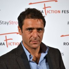 Roma Fiction Fest 2015: un primo piano di Adriano Giannini al photocall di Limbo