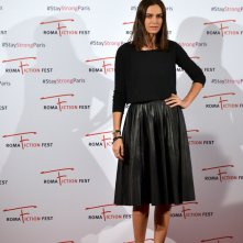 Roma Fiction Fest 2015: Kasia Smutniak in uno scatto al photocall di Limbo