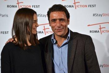 Roma Fiction Fest 2015: Kasia Smutniak e Adriano Giannini al photocall di Limbo