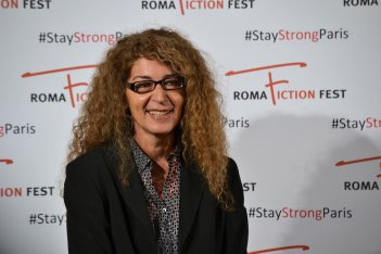 Roma Fiction Fest 2015: Melania Mazzucco al photocall di Limbo