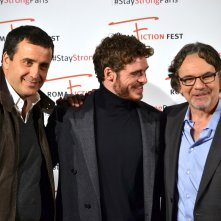 Roma Fiction Fest 2015: Richard Madden e Frank Spotnitz sul red carpet di Medici: Master of Florence