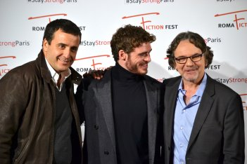 Roma Fiction Fest 2015: Richard Madden e Frank Spotnitz sul red carpet di Medici: Master of Florence