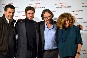Roma Fiction Fest 2015: Richard Madden, Frank Spotnitz, Luca Bernabei, Matilde Bernabei, Eleonora Andreatta sul red carpet di Medici: Master of Florence