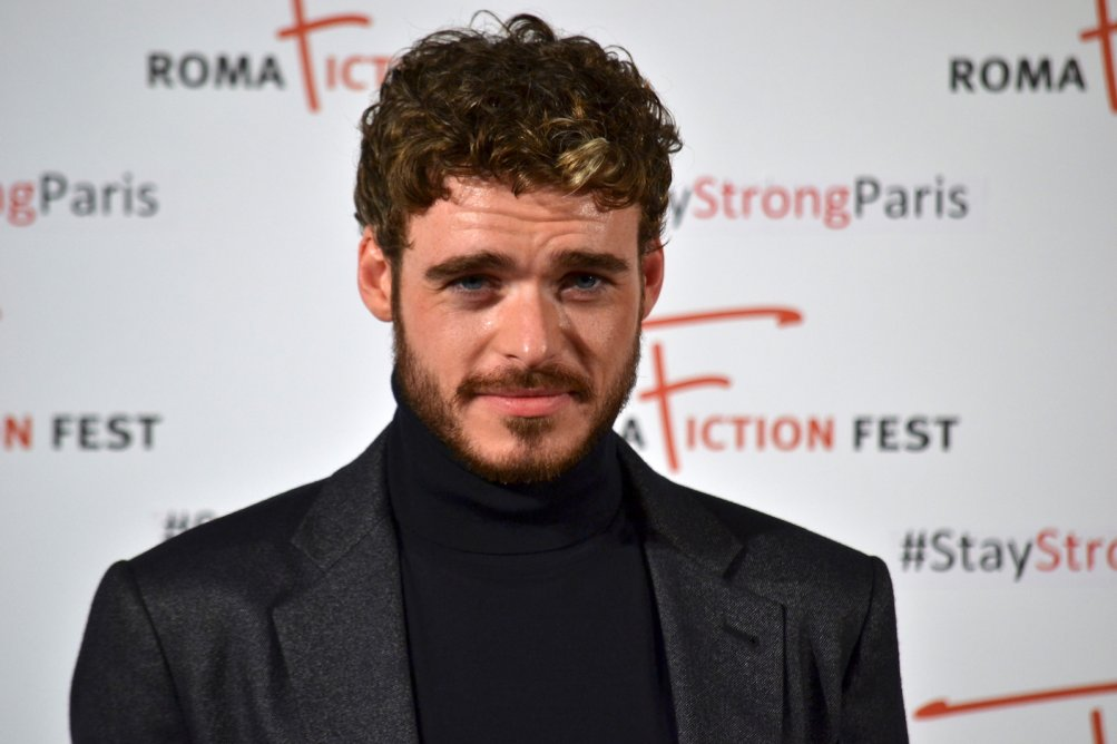 Roma Fiction Fest 2015: Richard Madden sul red carpet di Medici: Masters of Florence