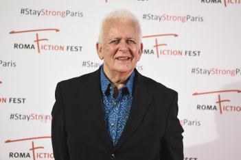 Andrew Davies posa al photocall del Roma Fiction Fest 2015