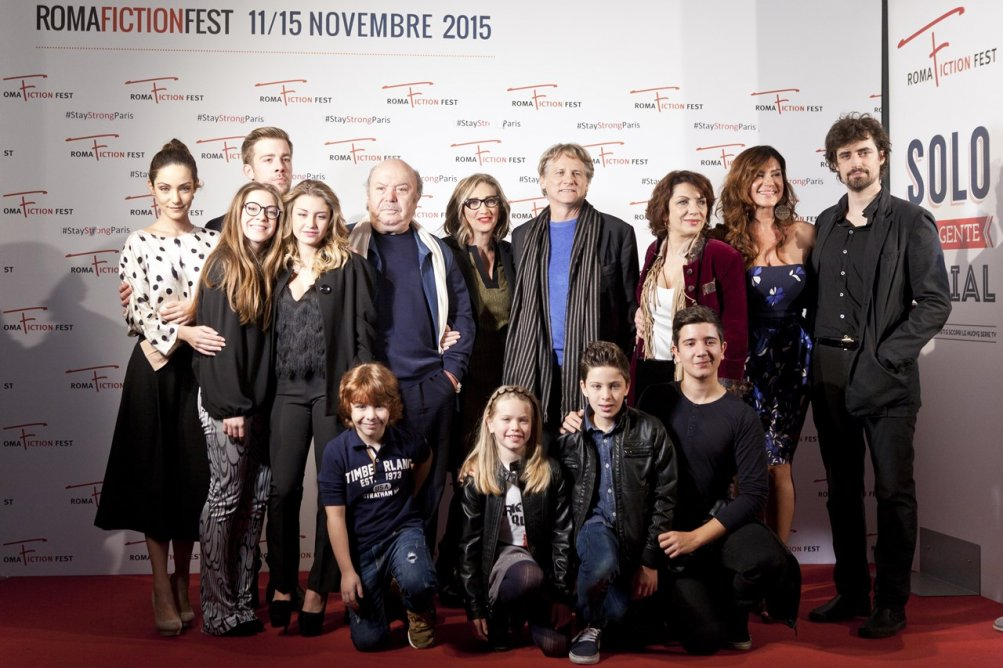 Un medico in famiglia: il cast della serie durante la reunion