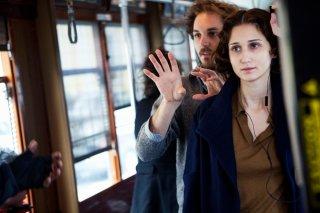 Antonia: Linda Caridi e il regista Ferdinando Cito Filomarino al lavoro sul set