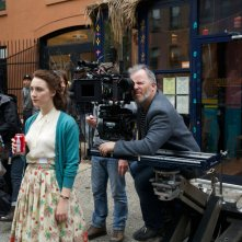 Brooklyn: Saoirse Ronan sul set del film