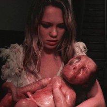 Hellions: Chloe Rose in una raccapricciante scena del film
