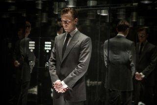 High-Rise: Tom Hiddleston in una scena del film