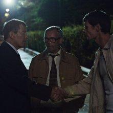 The Idealist: Peter Plaugborg con altri due attori del film in una scena