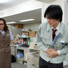 Love & Peace: Hiroki Hasegawa e Kumiko Aso in una scena del film