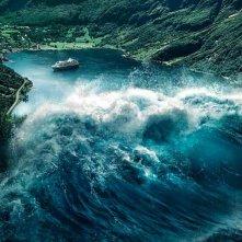 The Wave: lo tsunami in azione in una scena del film