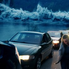 The Wave: una scena d'azione del film