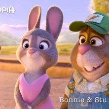 Zootropolis: un'immagine dei genitori di Judy