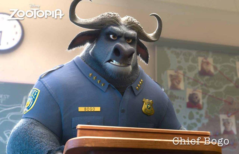 Zootropolis: la foto del capo della polizia Bogo