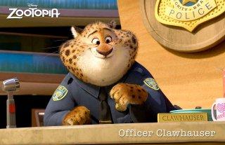 Zootropolis: un'immagine dell'agente Clawhauser