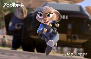 Zootropolis: un'immagine della protagonista Judy Hopps