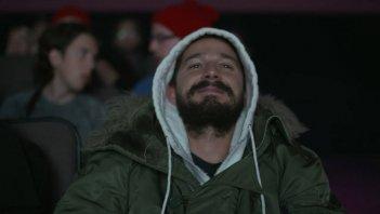 Shia LaBeouf durante la maratona di #ALLMYMOVIES