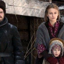 Zivago: Hans Matheson e Keira Knightley nella miniserie