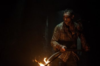The Hallow: Joseph Mawle in una scena del film