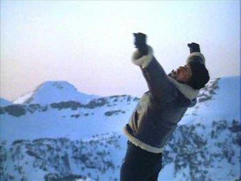 Rocky IV: Sylvester Stallone sulla vetta