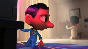 Il super team di Sanjay: un'immagine tratta dal cortometraggio animato