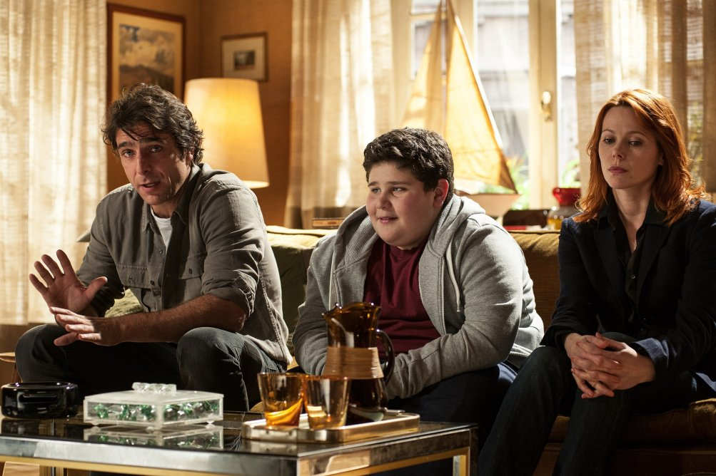 In Treatment: Adriano Giannini, Francesco De Miranda e Barbora Bobulova in una foto della seconda stagione