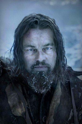 Revenant - Redivivo: l'attore Leonardo DiCaprio in una scena del film