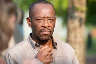 The Walking Dead: Lennie James interpreta Morgan in Heads Up