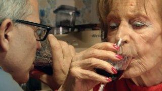 Mia madre fa l'attrice: Mario Balsamo e Silvana Stefanini in un primo piano