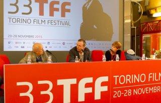 Iona: Scott Graham durante la conferenza stampa del Torino Film Festival 2015