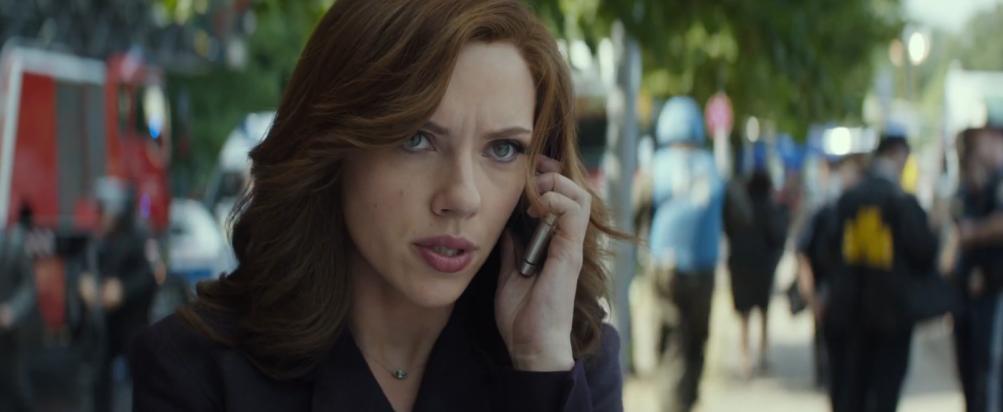 Captain America: Civil War: Scarlett Johansson nel primo trailer del film Marvel