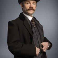 Sherlock: Martin Freeman nel character poster dello speciale The Abominable Bride