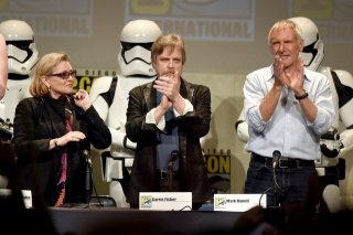 Comic Con Star Wars reunion