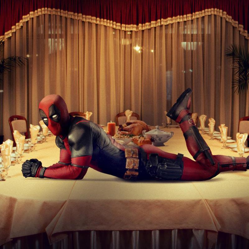 Deadpool: gli auguri del Ringraziamento
