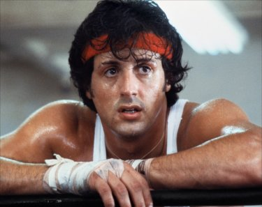 Sylvester Stallone in Rocky