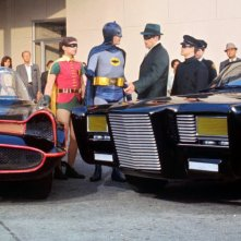 Una foto di Batman vs. Green Hornet