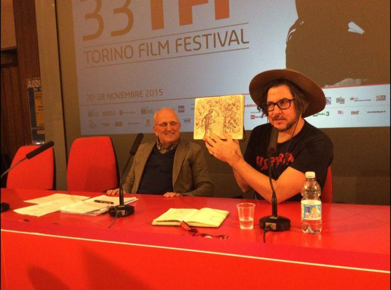 The Hallow: Corin Hardy e i disegni dei suoi mostri in conferenza a Torino 2015