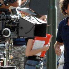 Il professor Cenerentolo: Flavio Insinna e Leonardo Pieraccioni sul set del film