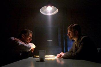 X-Files e Homicide: Life on the street, una foto del crossover